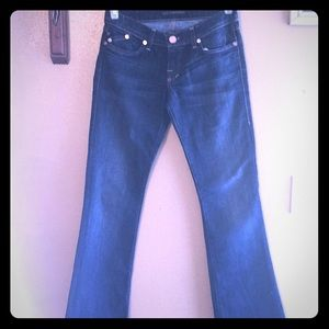 Dark denim Rock & Republic jeans 27 bootcut rose